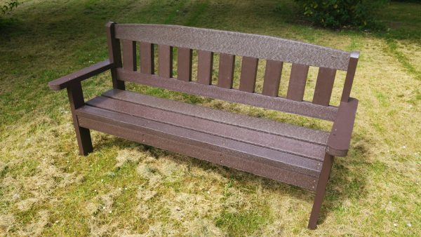 Merlin Recycled Plastic Composite Picnic Bench