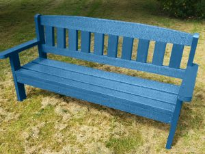 Blue Merlin Recycled Plastic Composite Picnic Bench